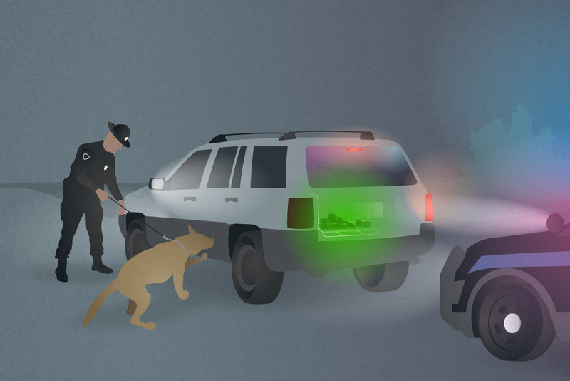 St. Charles County officers seized $2.6 million during 39 stops along I-70 in 2018, according to records. That was the biggest civil asset forfeiture haul of any police agency in the state. Graphic courtesy of David Kovaluk/ St. Louis Public Radio. United States, 2019.