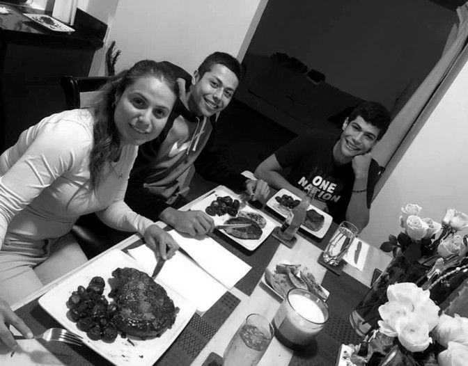 Christian Madrigal with his family, before he had a mental-health crisis in 2019. Image courtesy of Jose Jaime. United States, undated.